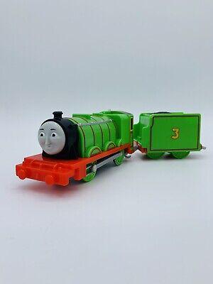 Thomas & Friends Trackmaster motorized train engine Henry #3 tender car 2013