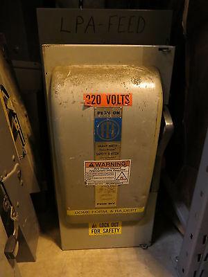 Ite Sn324 200 Amp 240 Volt 2 Pole Fusible Disconnect
