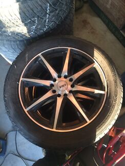 CSA rims and tyres practically brand new