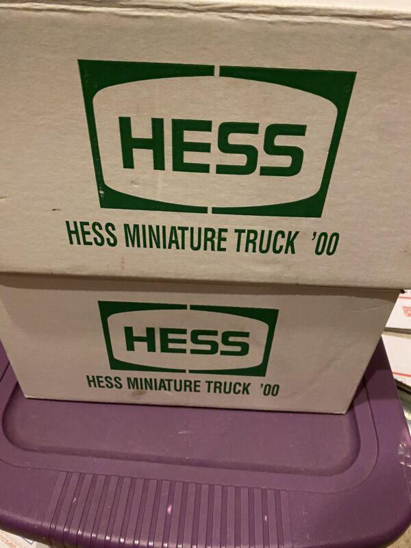 2000 Mini miniature hess first truck 24 Trucks Full Case
