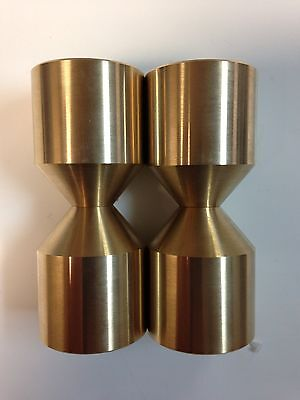 Standard Brass Stainless Two Hole Pins