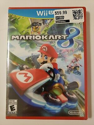 Mario Kart 8 (Nintendo Wii U, 2014) - Brand New Sealed