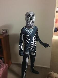 Fortnite Skull Trooper Costume Kids Clothing Gumtree Australia