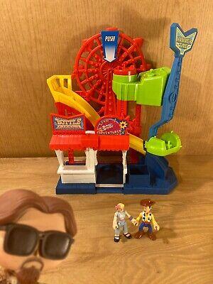 Imaginext Disney Pixar Toy Story 4 Carnival Playset w/ Woody and BO PEEP figures