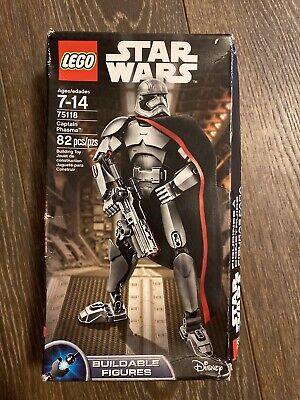 Star Wars Lego 75118 Captain Phasma Buildable Figures Disney