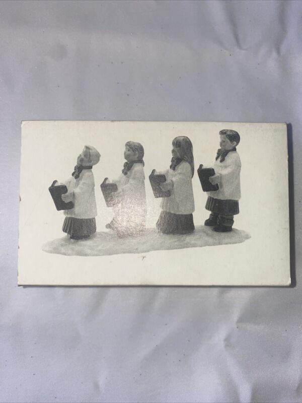 CHOIR KIDS - ORIGINAL SNOW VILLAGE - DEPARTMENT 56  - RETIRED DEC. 1992