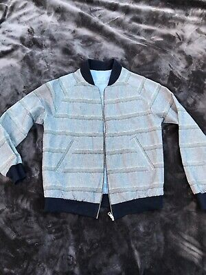 A Kind Of Guise Reversible Bomber Jacket Men's S Rare 100% cotton