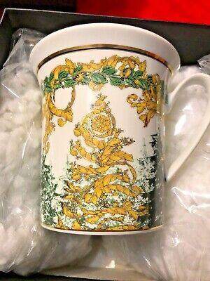 $200 VERSACE MUG CUP WINTERS NIGHT CHRISTMAS GIFT Rosenthal 11oz. NEW RARE SALE