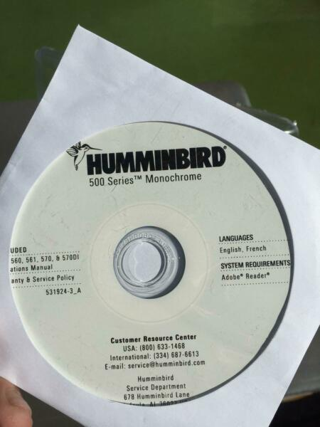 Humminbird 561 fishfinder (brand new)   Boat Accessories