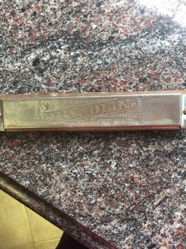 Vintage German Fridolin Harmonica