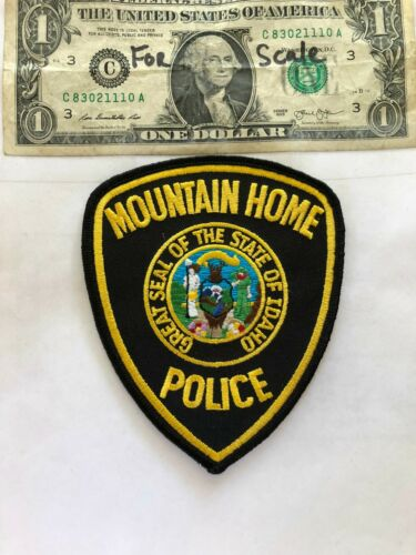 Mountain Home Idaho Police Patch Un-sewn in great shape