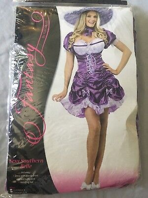 Adult size Purple Short Southern Belle Costume 2 sizes small/medium 2-8](Adult Southern Belle Costume)