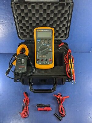Fluke 787 Processmeter Excellent Screen Protector Case Accessories Clamp