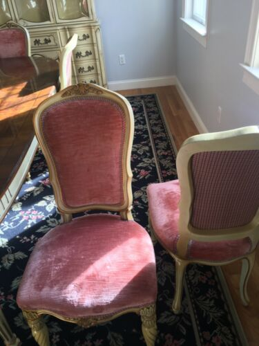 Karges French style dining chairs(10total)