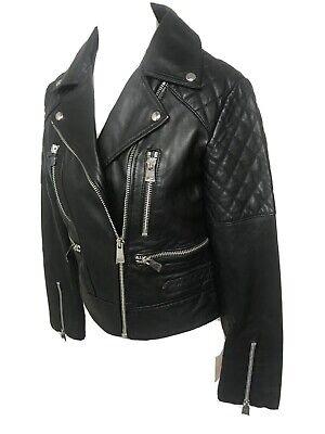 Bnwt Allsaints NYSA leather Biker Jacket.uk 8/US 4.£345.Walker/Esher/Cargo.£345