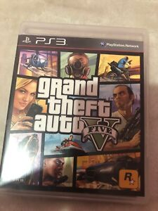 Grand theft auto 4 and 5 playstation 3 games