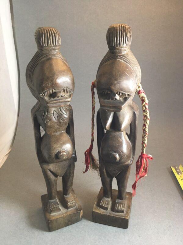 Antique Fertility Statue set