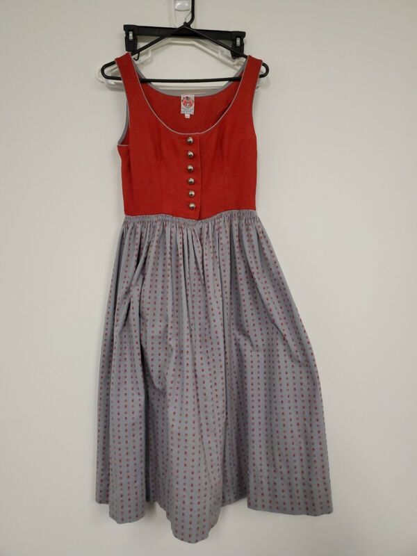 Vintage Dirndl Dress  Original Lanz Salzburg Wien Austria Oktoberfest womens 42