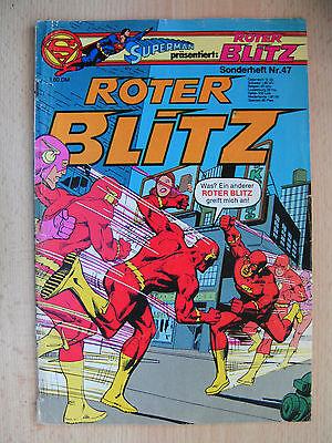 Comics Hefte, Superman präsentiert: Roter Blitz, Nr. 47 , 1979 , Ehapa-Verlag