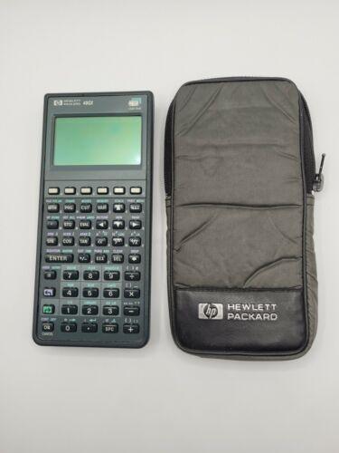 Vintage Hewlett Packard 48GX Graphic Calculator Untested (Read Description)