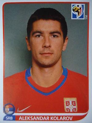 Serbien Wm (Panini 304 Aleksandar Kolarov Serbien FIFA WM 2010 Südafrika)