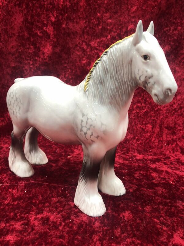 Beswick Dapple Grey Shire Horse
