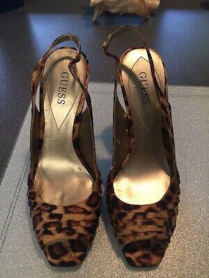 Women's guess leopard heels (Guess Leopard Heels)