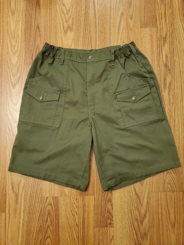 Vintage Boy Scouts Of America Uniform Shorts Size W36