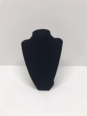 Black Velvet Necklace Stand Display 9tall X 7wide