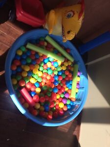 Pool with roughly 400 balls