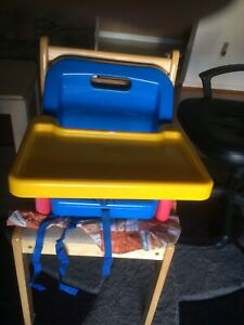 Child booster seat kitchen dinner table