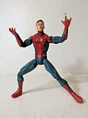 Marvel Legends Spider-man movie Unmasked Peter Parker Spider-man 6