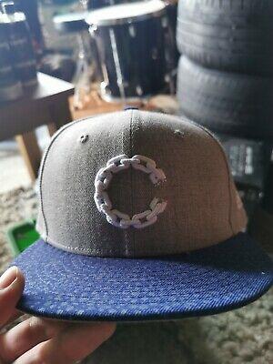 Flat peak cap new era size 7 1/8 snapback hat