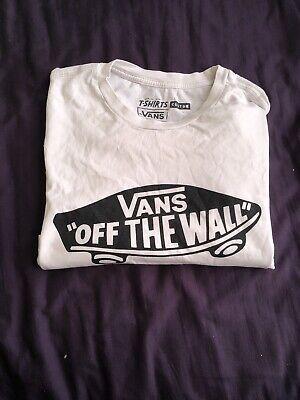 Vans Off The Wall T-Shirt. Unisex. Medium pre Loved