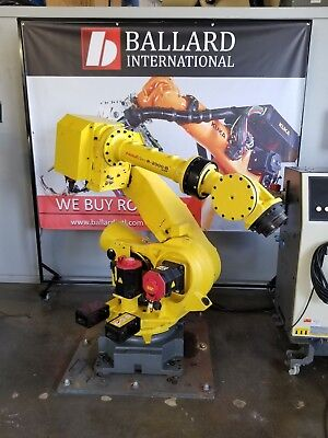 Fanuc R-2000ib Robot System Complete W R30ia Cabinet - Low Hours
