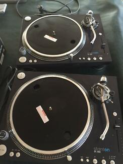 x2 Stanton ST 150 Turntable Vinyl Professional Joondalup Joondalup Area Preview