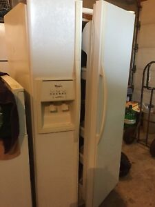 Whirlpool fridge and stove
