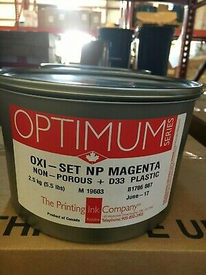 The Printing Ink Offset Oxi-set Magenta 5.5lb Can