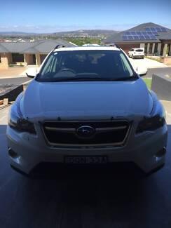 2014 Subaru XV G4X MY14 2.0i-S Lineartronic AWD Arctic White 6 Sp