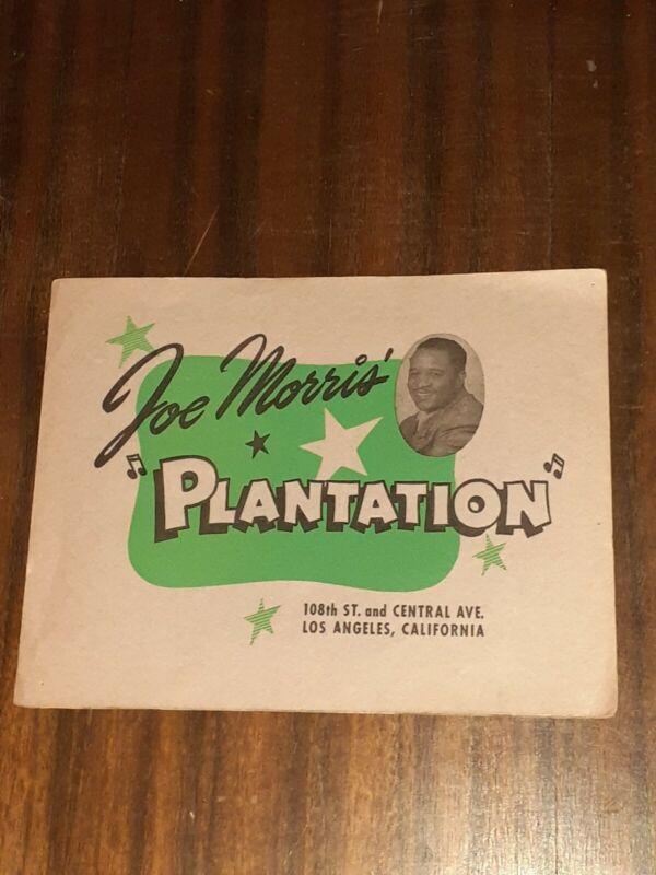 JAZZ HELEN HUMES autographed dec.24,1945 Joe Morris Plantation souvenir photo