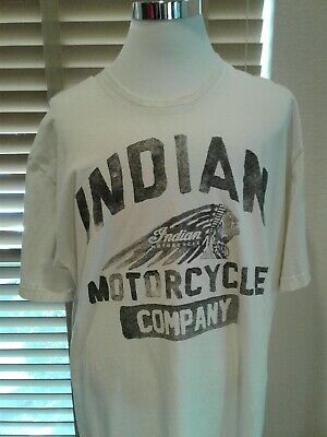 VTG Authentic Indian Motorcycle Company T Shirt Size 2XL P11542