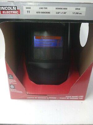 Lincoln Electric K3057-1 4 X 5 11 Solar Powered Auto Darkening Welding Helmet