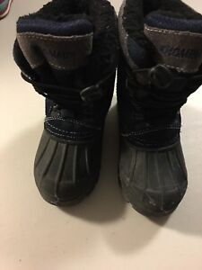 Blue/Black Winter Boots Boys 9
