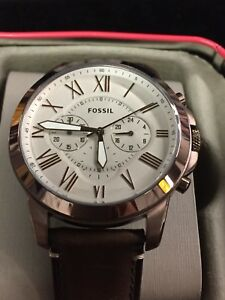 FOSSIL WATCH MENS GRANT CHRONOGRAPH