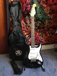 SX Standard Series guitar, near new with case Pickering Brook Kalamunda Area Preview