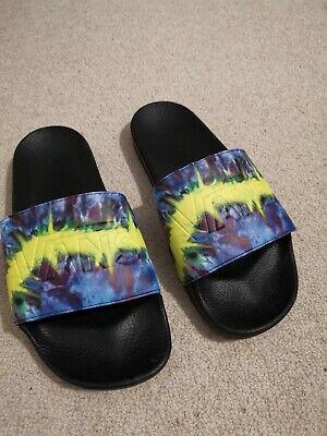 Vans Tie Dye Sliders Flip Flops Size UK10