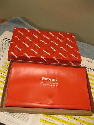 Starrett S579hzz New Plastic Case Only Machinist Tools