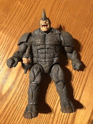 Marvel Legends 6in Rhino Complete BAF Series Spider-Man Hasbro 2015