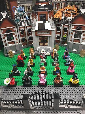 NEW, Lego Batman Movie 71017 Mini Figures Complete Set Of 20