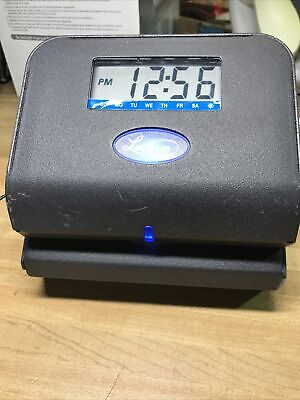 Lathem Time 800p Tru Align Direct Thermal-print Time Clock Tested Working